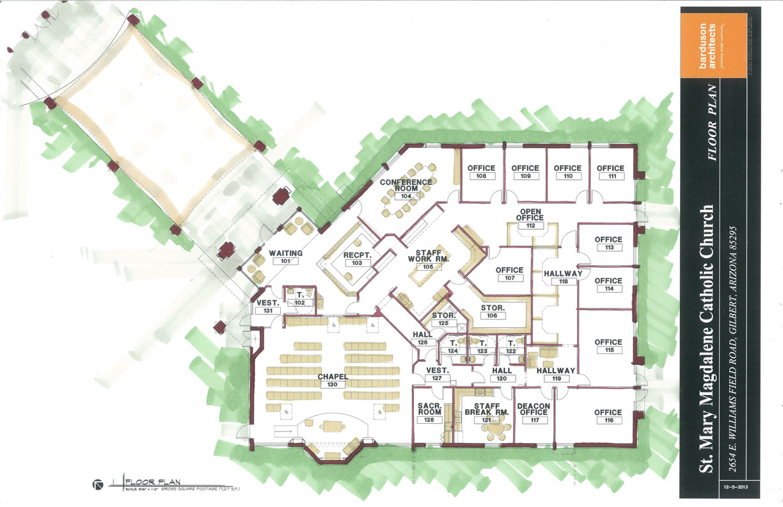 Catholic church floor plans car interior design for New build floor plans
